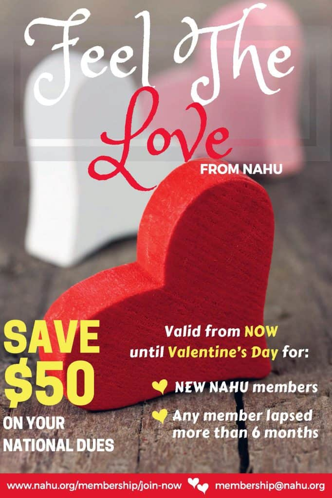 NAHU Valentine's Day Promotion